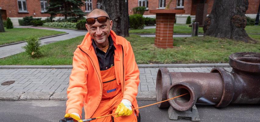 Robot w kanale w Łodzi jest jak łazik na Marsie. Bada najwęższe rury i wykrywa nielegalne przyłącza.