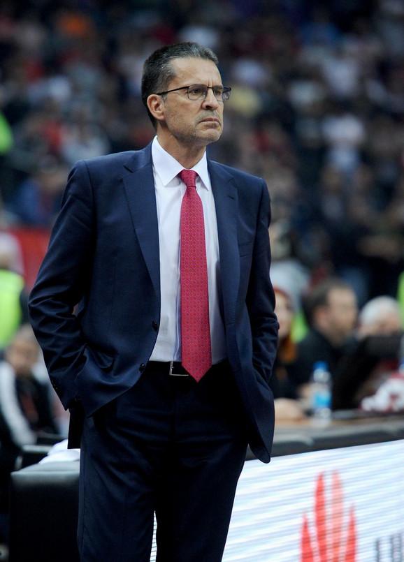 Pedro Martinez, trener Baskonije