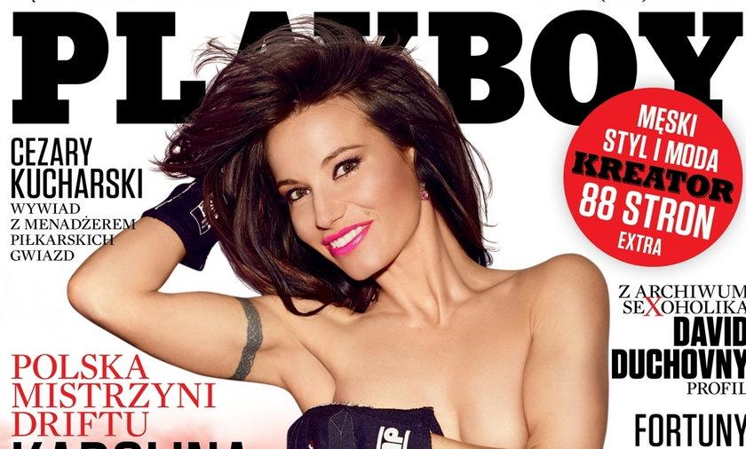 """Karolina Pilarczyk w """"Playboyu"""""""