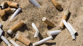 Ponad dwa i pół tysiąca ton niedopałków na greckich plażach