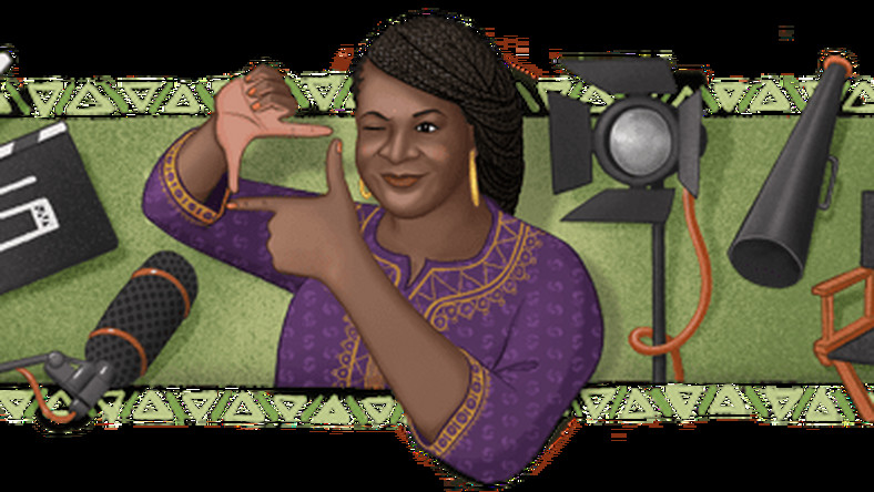 Google Doodle honours Nollywood filmmaker, Amaka Igwe on 57th posthumous birthday. [Google]