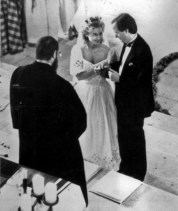 Venčanje sa Hajkom fon der Lajenom 1986.