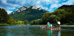 Na Dunajcu przewróciłą się łódź