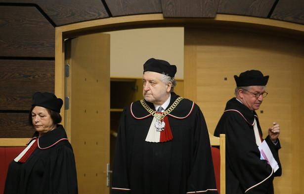 Przewodniczący Trybunału Konstytucyjnego Andrzej Rzepliński, PAP/Paweł Supernak