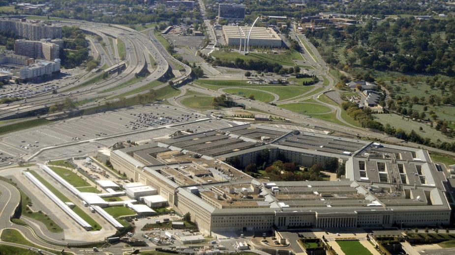 Budynek amerykańskiego Pentagonu