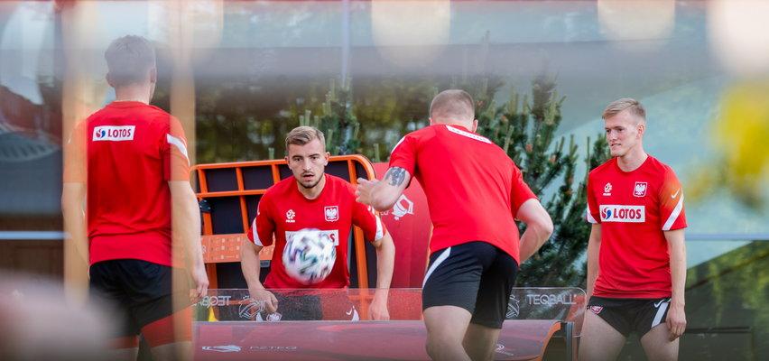 Polscy piłkarze zagrali w teqball. Poszli śladem Ronaldinho