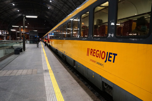 Pociągi RegioJet mogą w przyszłości obsługiwać połączenie Kraków-Gdynia