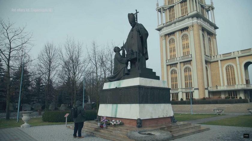 Pomnik budowniczego bazyliki licheńskiej