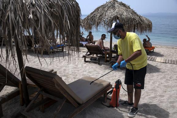 Dezinfekcija plaža