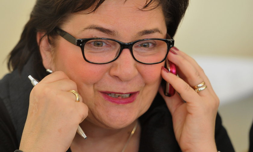 Teresa Piotrowska, posłanka PO i kandydatka na szefa MSW