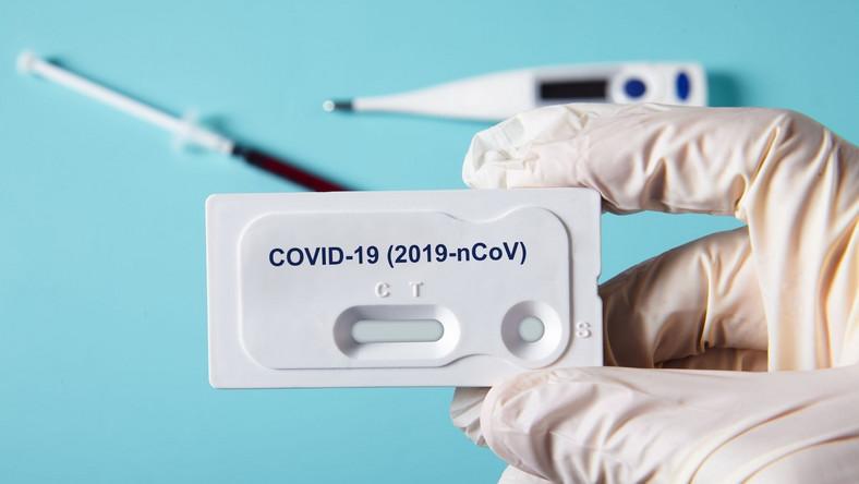 Test koronawirus covid 19