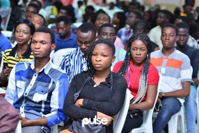 Industry experts share success tips with UNILAG undergraduates. (Pulse)