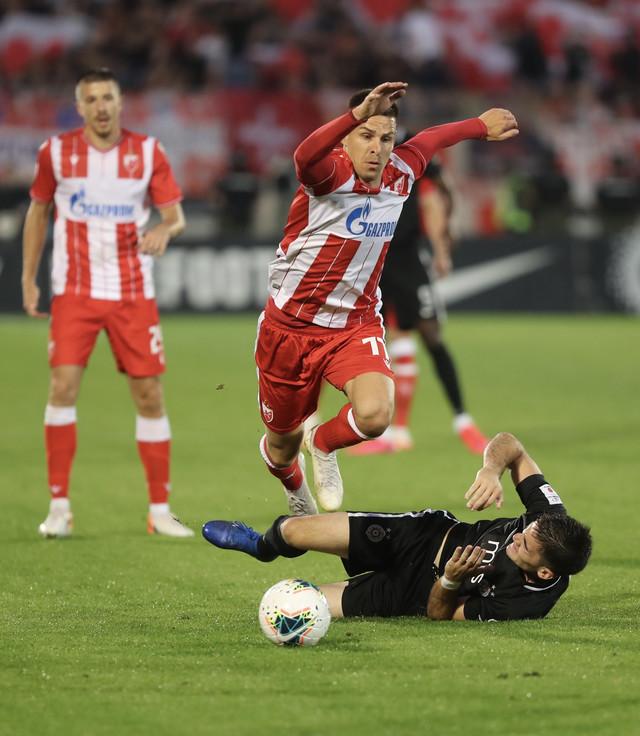 Detalj sa meča Partizan - Crvena zvezda