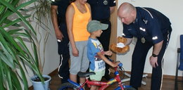Odnaleźli skradziony rower Wojtusia