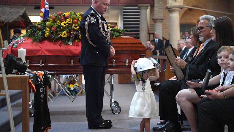 Pogrzeb Andrew O'Dwyera