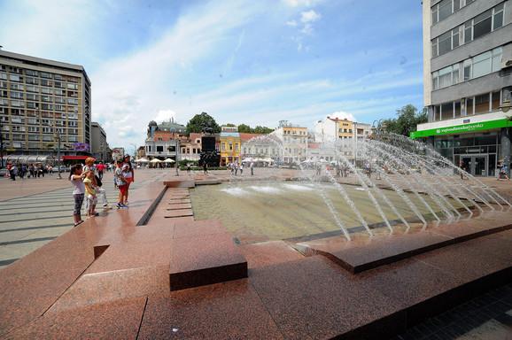 Nis Fontana u centru Nisa Kostadin Kamenov