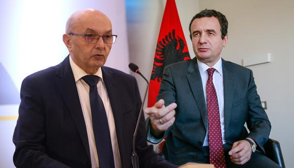 Isa Mustafa i Aljbin Kurti