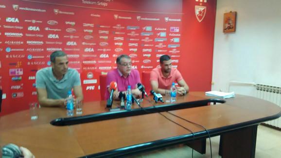 Milenko Topić, Nebojša Čović i Dušan Alimpijević