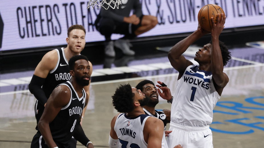 Minnesota Timberwolves zajmują ostatnie miejsce w Konferencji Zachodniej NBA