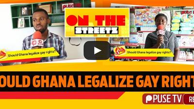 Should Ghana legalise gay rights?