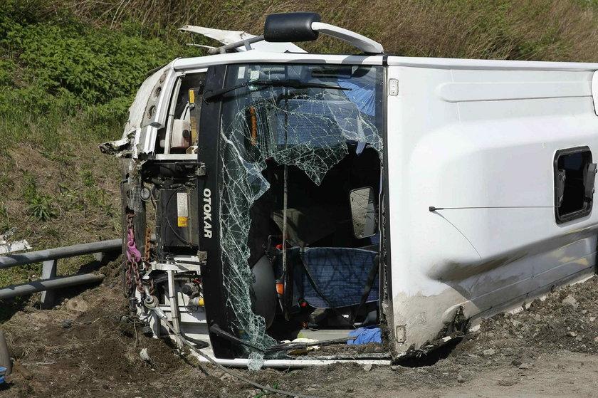W wypadku pod Dreznem zginęło 11 osób