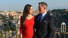 """Monika Bellucci i Daniel Craig na planie """"Spectre"""", nowego filmu o Jamesie Bondzie"""