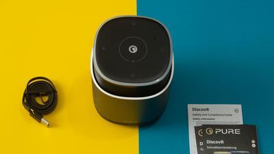 Pure Discovr im Test: Kleiner Multiroom-Lautsprecher mit Akku