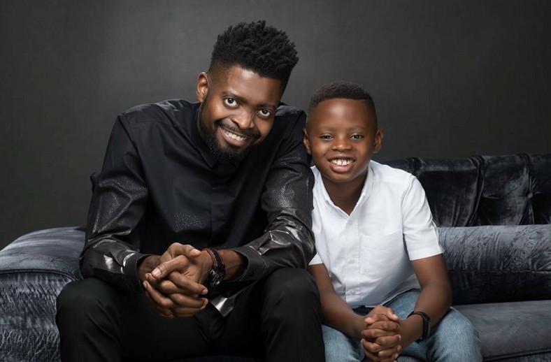Basketmouth and son, Jason [Instagram/Basketmouth]