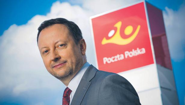 Grzegorz Kurdziel, wiceprezes Poczty Polskiej