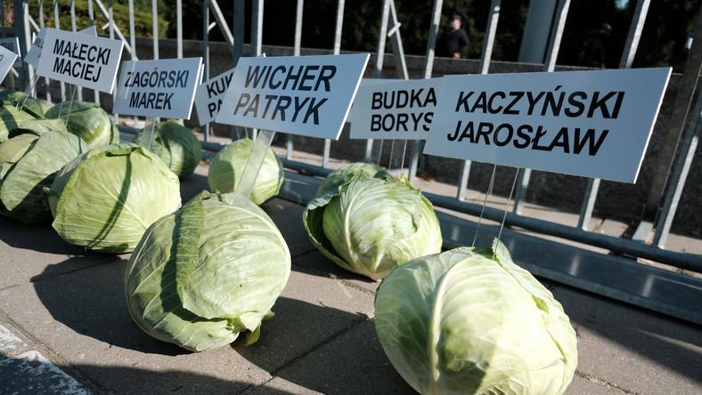 happening AgroUnii pod Sejmem