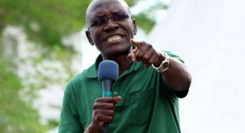 Former Kakamega Senator Boni Khalwale.