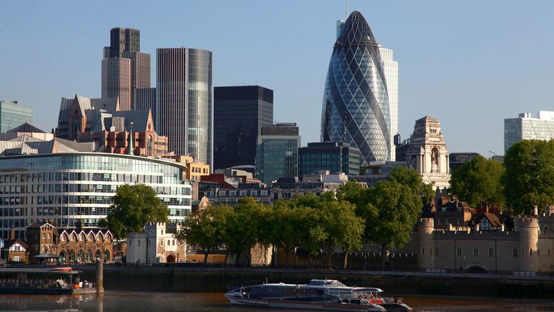 Londyn od strony Tamizy