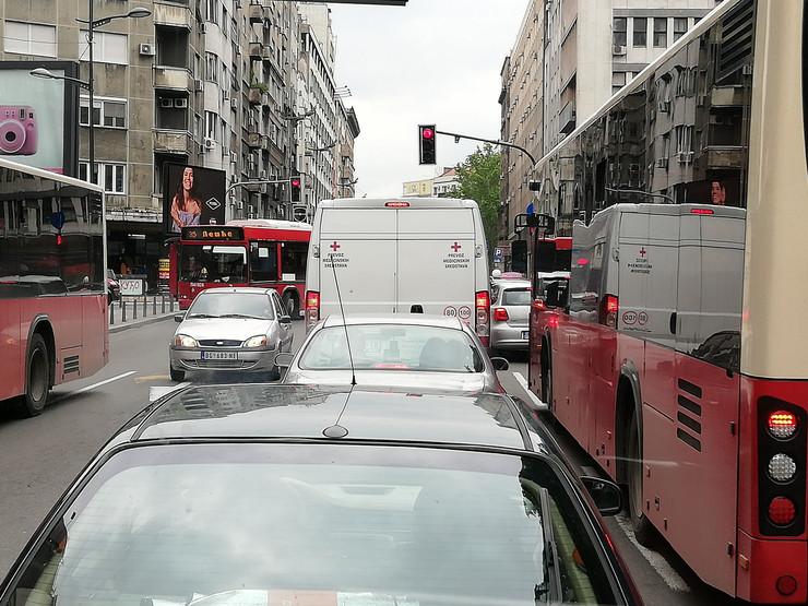 gužva semafor