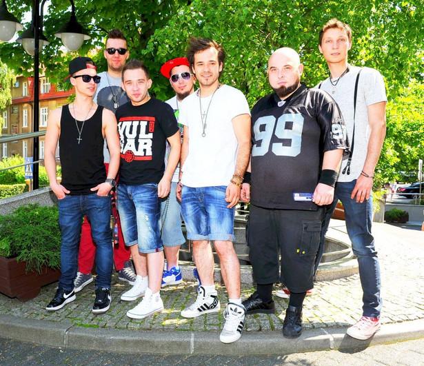Członkowie Eneja w Sopocie podczas konkursu Top Trendy
