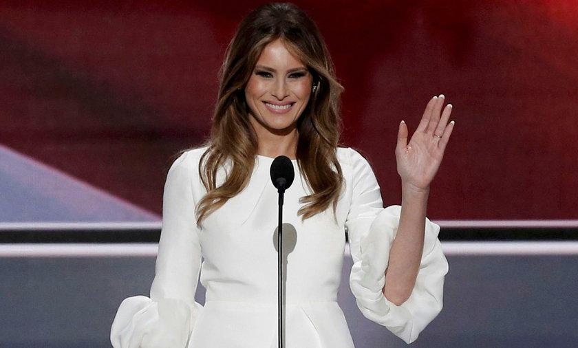 Melania Trump, żona kandydata na prezydenta USA, Donalda Trumpa