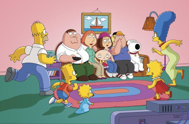 """""""Family Guy"""": kadr z serialu"""