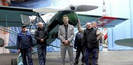 Ten samolot uratował rozbitków z lodowca
