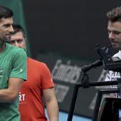 ĐOKOVIĆ KRENUO ŽESTOKO! Novak u Melburnu trenirao sa teniserom koji mu je naneo NAJTEŽE PORAZE u karijeri! /FOTO, VIDEO/