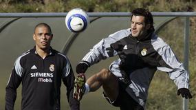 Ronaldo żartuje z Luisa Figo i jego pięknej żony