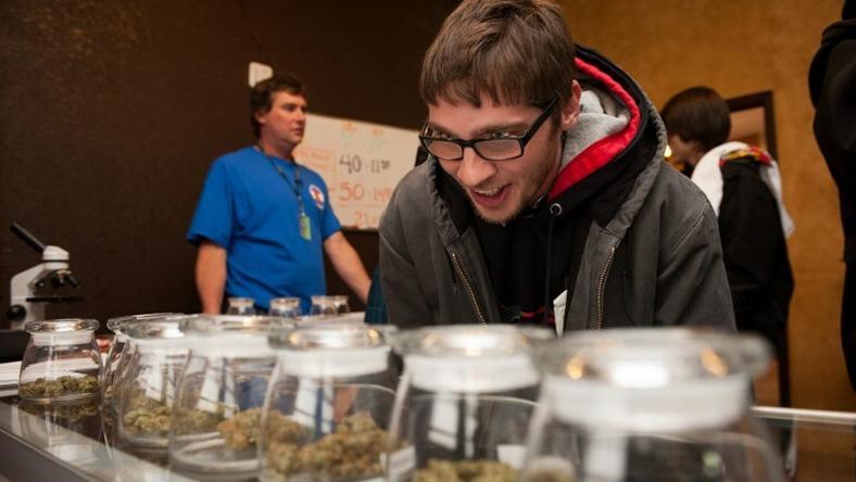 Kolorado jest pierwszym stanem USA dopuszczającym sprzedaż marihuany