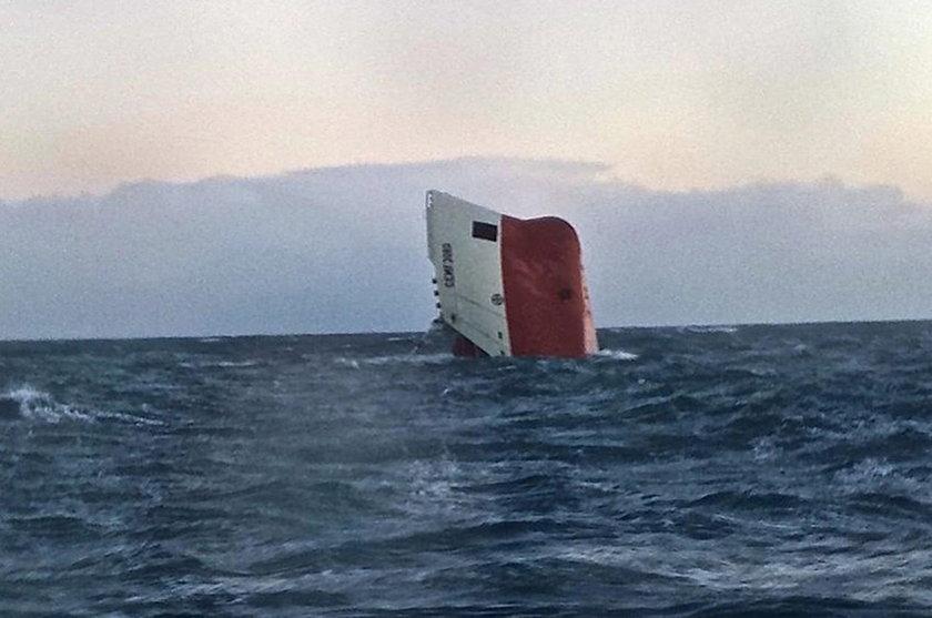 Tragedia na morzu