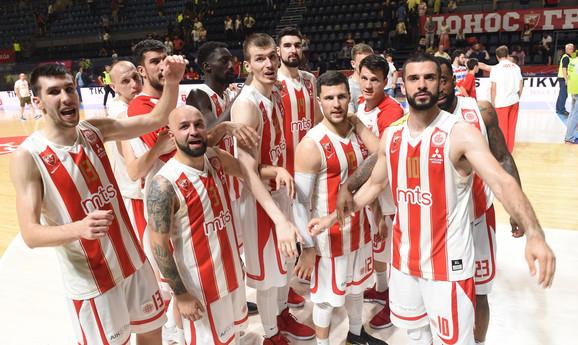 Košarkaši Zvezde, aktuelni šampioni ABA lige