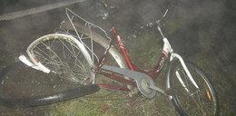 Potrącił rowerzystę. Winna mgła?