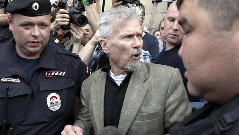 Edward Limonow, fot. Reuters