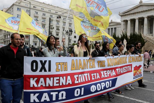 Strajk generalny w Grecji przeciw nowemu pakietowi zapowiedzianych przez rząd oszczędności