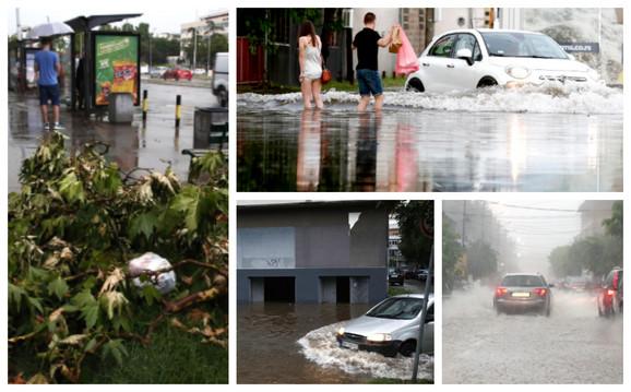 Poplava na Novom Beogradu