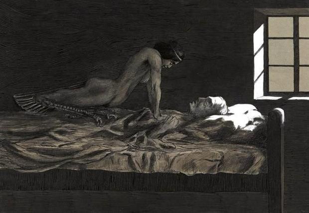 """My Dream, My Bad Dream"", de Fritz Schwimbeck (foto: wikipedia.org)"