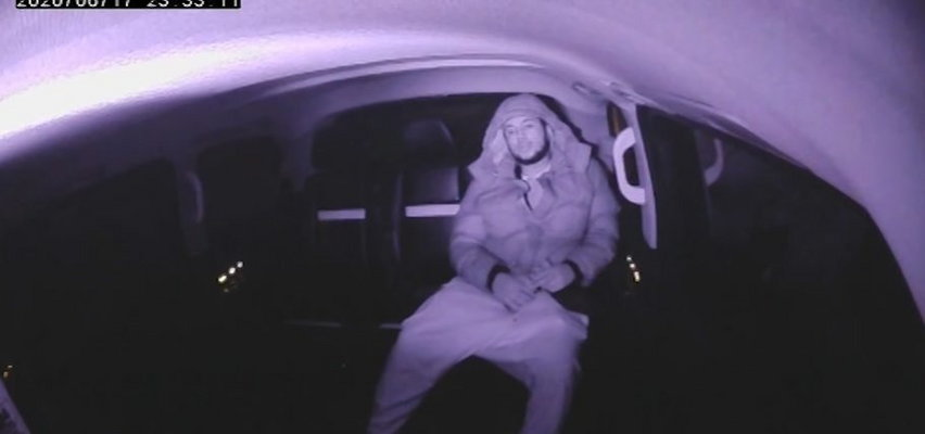 Gang narkotykowy rozbity przez policję. Nagrała ich kamera w taksówce