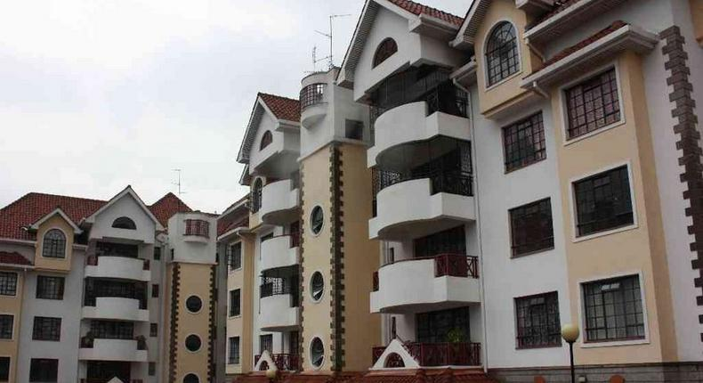 National Housing Cooperation houses in Kilimani