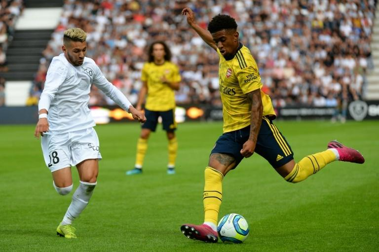 Arsenal winger Reiss Nelson is one the club's most promising youngsters